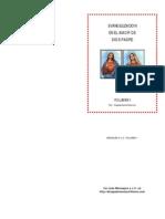 Vol 1  EVANGELIZACION EN EL AMOR DE DIOS PADRE -Mensajes a JV