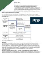 Application & Data Architecture