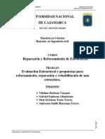 Informe Reparacion de Estructuras