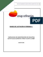 Bases de Licitación ERB090511