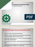 1. Pelayanan Kesehatan Kerja