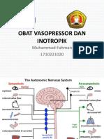 364252820 221689777 Farmakologi Obat Inotropik Vasopressor PDF