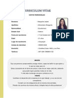 Margarita Curriculum
