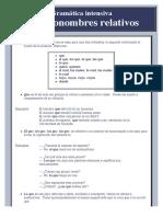Los pronombres relativos.pdf