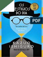 Ishiguro, Kazuo - Os Vestígios Do Dia (2017, Rocco)