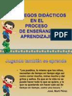Juegos Didácticos en El Proceso E-A