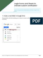 How Do I Use Google Forms and Sh (BUAT SIJIL)