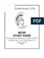 Mcsd Study Guide