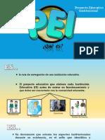 El Pei(proyecto Educativo Institucional) y el Poa (Plan Operativo Anual)