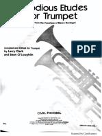 Bordogni - Melodious Etudes for Trumpet