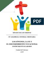 Instrumentum Laboris Sínodo de los Jóvenes.pdf