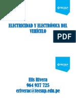 Electricidad y Electrónica Del Vehículo