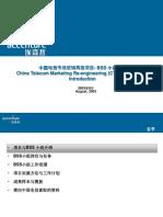 187埃森哲--中国电信市场营销再造项目