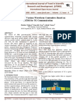 An Overview of Various Waveform Contenders Based on OFDM for 5G Communication
