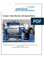 Sigma Mixer Catalog New