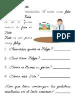 Fichas F Lectura
