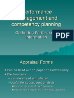 HR - Performance Information