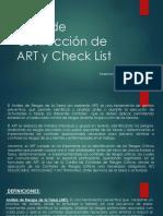 Taller de Confección de ART y Check List