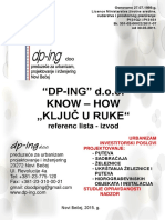 DPING - Becej - Referenc Lista 2015