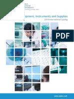 Laboratory Equipment WPI2016