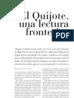 Quijote Lectura Fronteriza Por J. Villoro