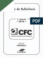 CFC 2018.1 PROVA AMARELA