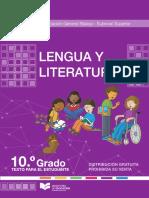 10mo Egb Texto Lengua