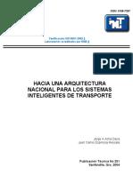Hacia una arquitectura nacional para los sistemas inteligentes de transporte.pdf
