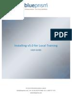Blue Prism User Guide - Installing v5.0