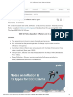 SSC GK Economy Notes_ Inflation and Its Types