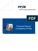 Financial Planner  Competency  Profile