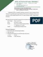 Pengumuman Hsl Tes Kesehatan Rekrutmen PT RN Medika 2017.pdf