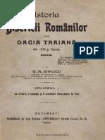 Istoria Bisericii Romanilor Din Dacia Traiana