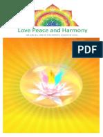 (13) -1-30 Temmuz 2009 - Love Peace and Harmony Journal