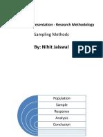 Presentation - Sampling Methods
