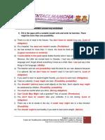 15.Answer Key-Modal Verbs