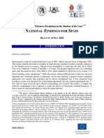 CODIRE - Spanish National Findings