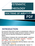 Doctrine of Miracles