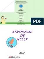 Sindrome de Hellp Diabetes Gestacional