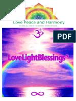 (17) -1-30 Kasım 2009 - Love Peace and Harmony Journal