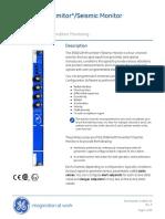 3500_42M Proximitor_Seismic Monitor Datasheet