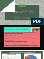 Final Presentaton About Nutrition