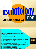 Eschatology -Kingdom of God
