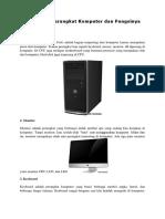 15 Macam Perangkat Komputer Dan Fungsinya