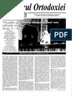 Vestitorul Ortodoxiei 2001 10.Octombrie Nr.277