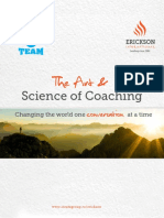 The Art and Science of Coaching Outlines