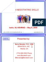 2009 05 05 Win Win Negotiating Skills