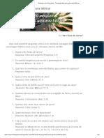 Teologia Com Propósito_ 70 Perguntas Para Gincana Bíblica!
