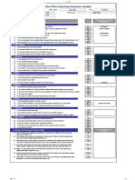 Copy of Office Ergonomics Inspection Checklist