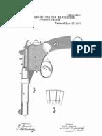 Mannlicher Pistol Patent